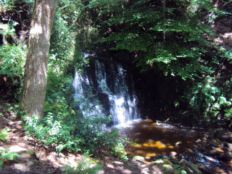 Tiger's Clough Waterfall