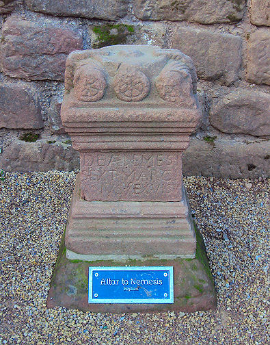 Shrine to Nemesis,  Roman Ampitheatre, Chester