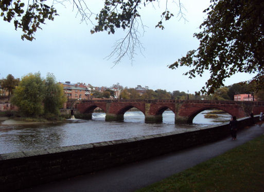 Old Dee Bridge, Chester