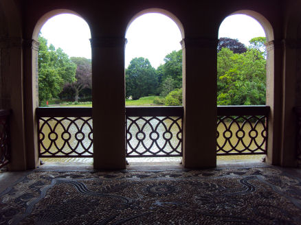 Roman Boathouse, Birkenhead Park